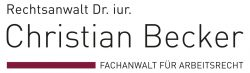 Dr. iur. Christian Becker